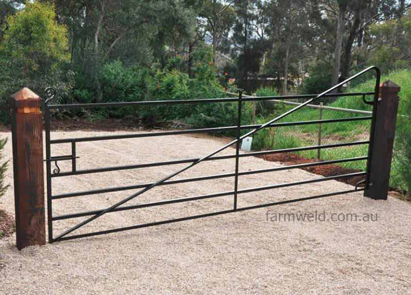 Horizontal Bar Farm Gates Farmweld