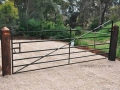 Blacksmithed Angle Iron Farm Gate