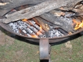 fire grate for fire pit