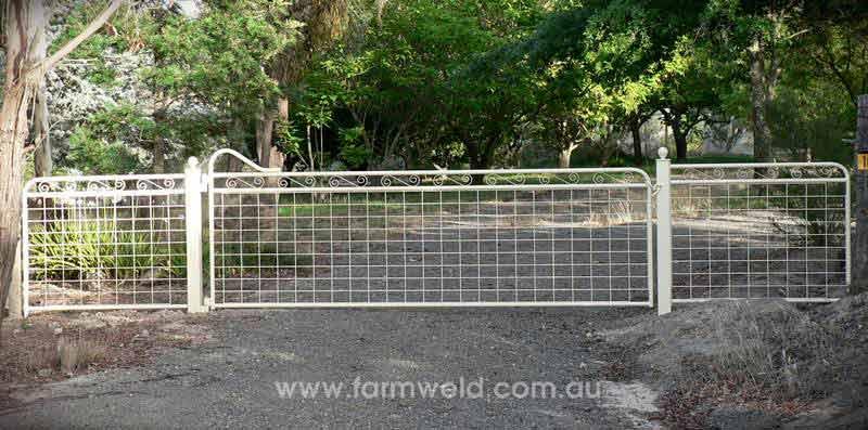 Heritage Mesh Amp Wire Gates Farmweld