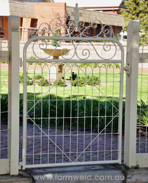 Old Wrought Iron Fence