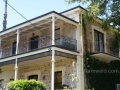 North Adelaide balcony with ivy balustrading