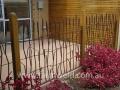 Wheat fence design