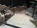 Wrought Iron balustrade - top view. Bridgewater, SA