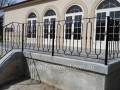 French style balustrade with loop balusters and cast bushes, Barossa Valley
