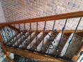 ornamental wrought iron staircase balustrade