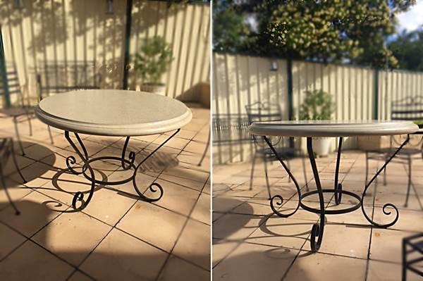 Phenomenal Wrought Iron Furniture Farmweld Interior Design Ideas Tzicisoteloinfo