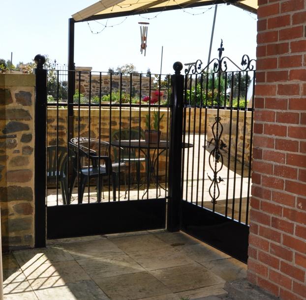 Wrought Iron Patio Doors : Wrought iron gates farmweld