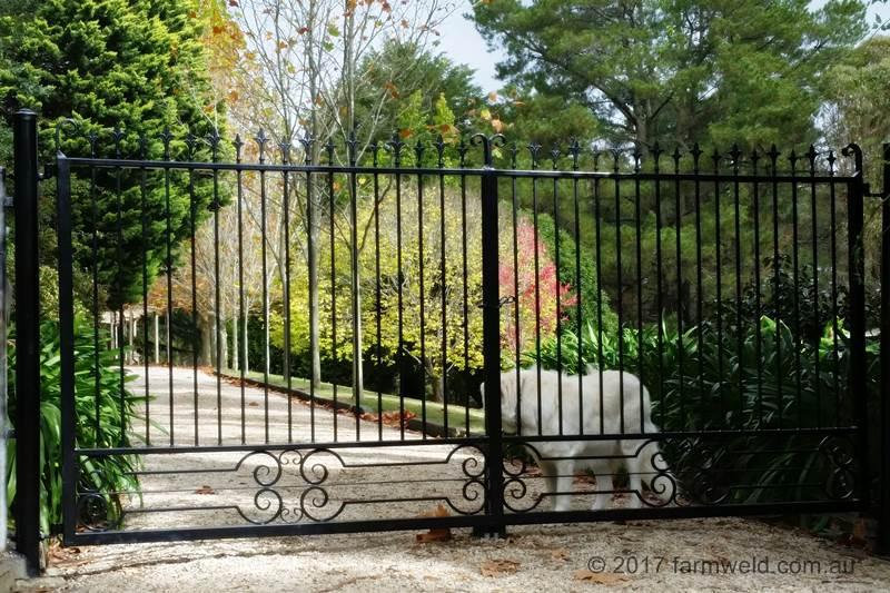 Wrought Iron Gates Farmweld