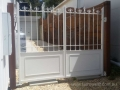French Provincial wrought iron gate