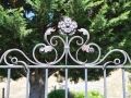 Wrougth Iron Gate topper