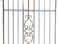 Reid Wrought Iron Garden Gate