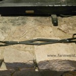 Fireplace tongs are very useful for lifting and turning logs in fireplaces and slow combustion heaters.
