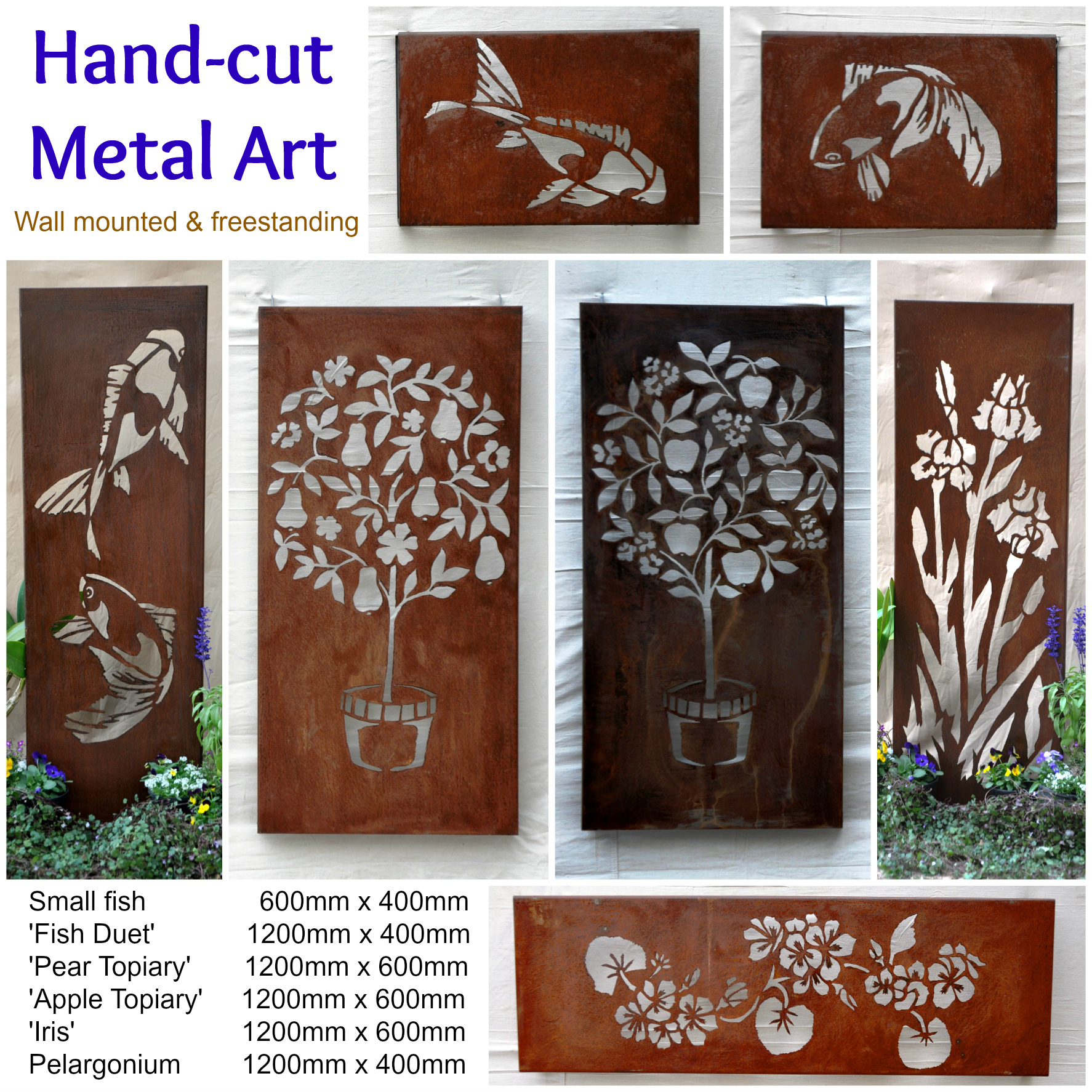 Australian Metal Artwork Garden Art Metal Wall Art