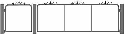 Raphaelle mesh gate