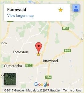Map of Farmweld's location