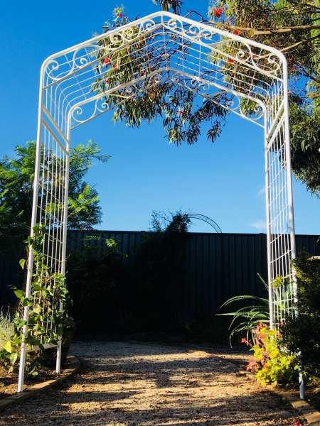 Custom garden arch