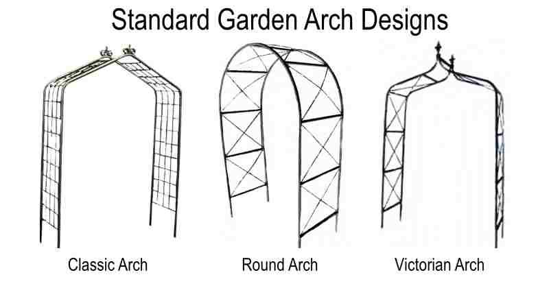 Farmweld's standard garden arches